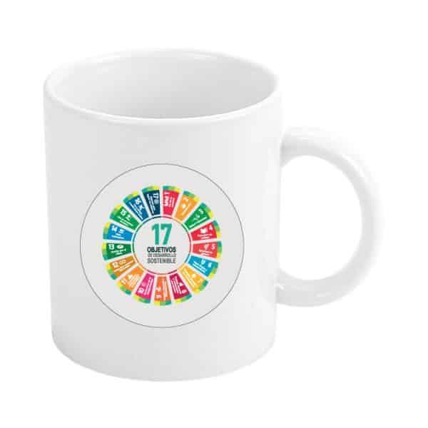 taza ods sdg desarrollo sostenible 17 objetivos