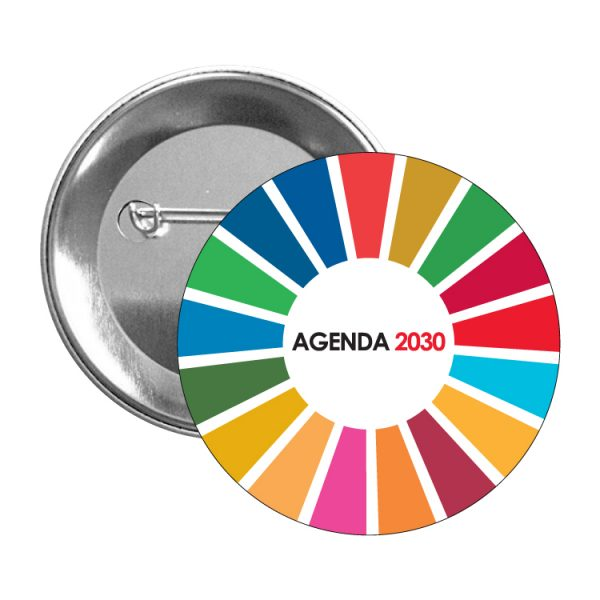 chapa ods sdg desarrollo sostenible agenda 2030