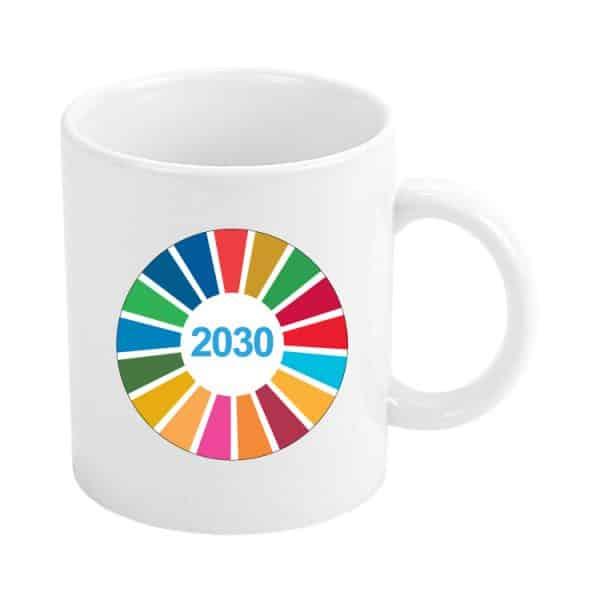 taza ods desarrollo sostenible 2030