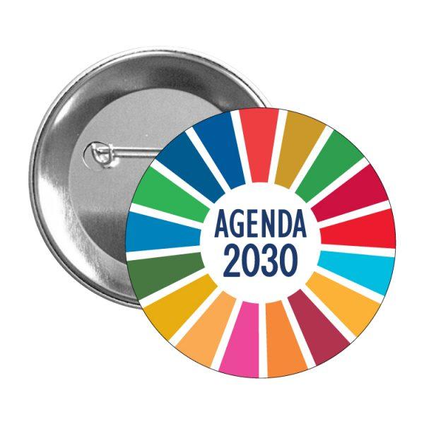 chapa ods sdg desarrollo sostenible agenda 2030 #2