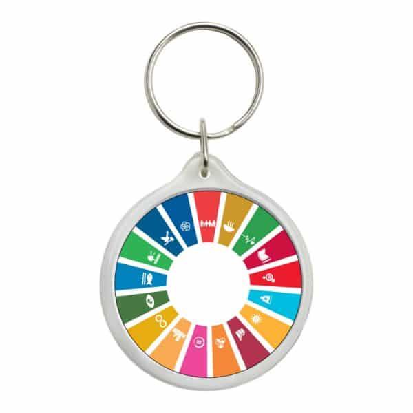 llavero redondo ods sdg desarrollo sostenible 17 medidas agenda 2030 #2