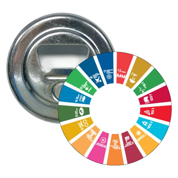 abridor redondo ods desarrollo sostenible 17 medidas agenda 2030