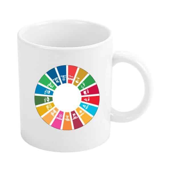 taza ods sdg desarrollo sostenible 17 medidas agenda 2030