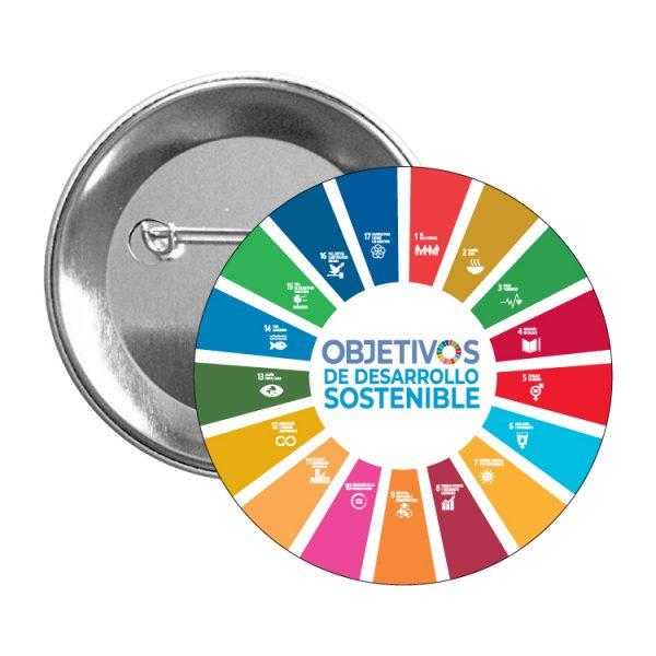 chapa ods sdg desarrollo sostenible #3