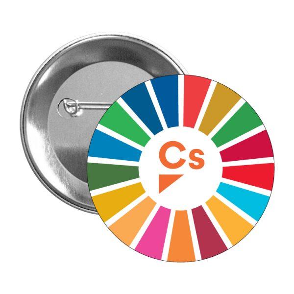chapa ods desarrollo sostenible ciudadanos cs