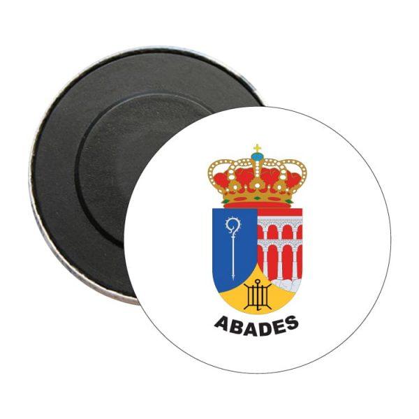 iman redondo escudo heraldico abades