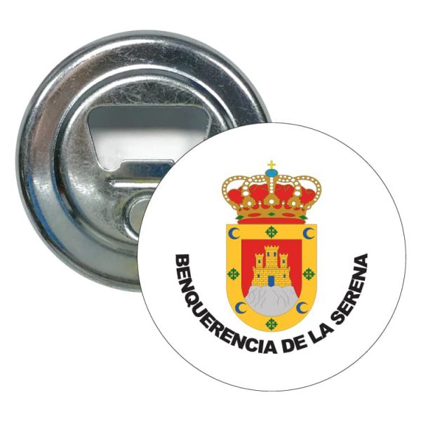 abridor redondo escudo heraldico benquerencia de la serena