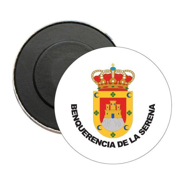 iman redondo escudo heraldico benquerencia de la serena
