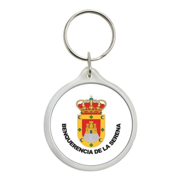 llavero redondo escudo heraldico benquerencia de la serena