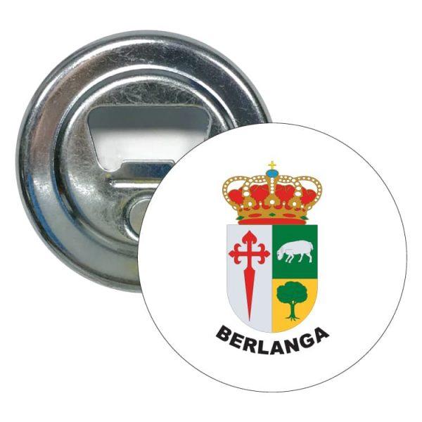 abridor redondo escudo heraldico berlanga