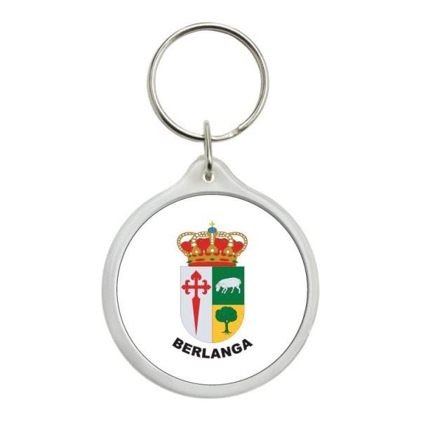llavero redondo escudo heraldico berlanga