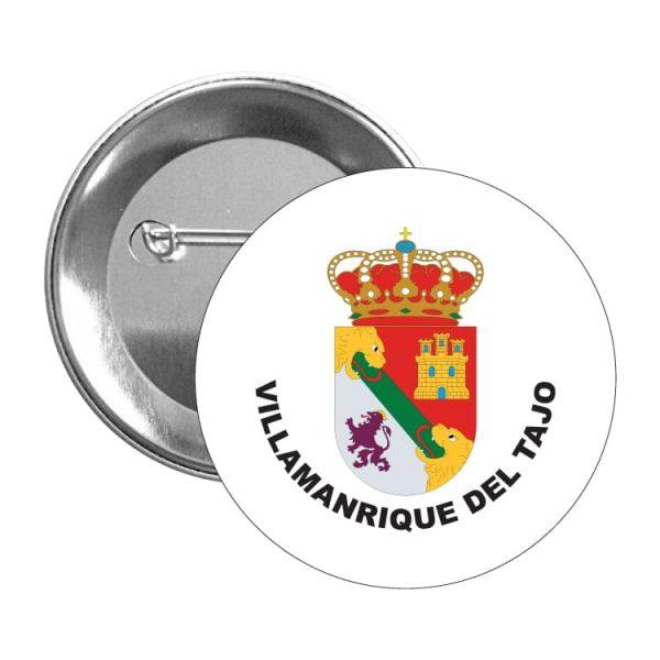 chapa escudo heraldico villamanrique del tajo