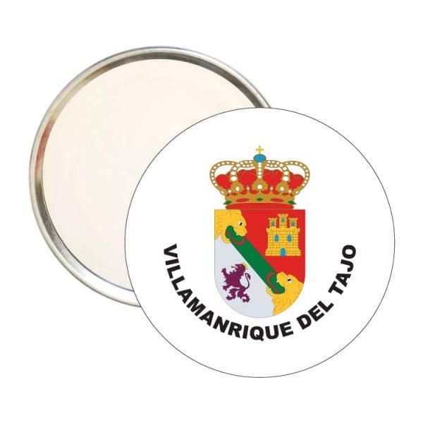 espejo redondo escudo heraldico villamanrique del tajo
