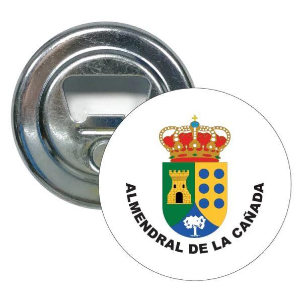 abridor redondo escudo heraldico almendral de la canada