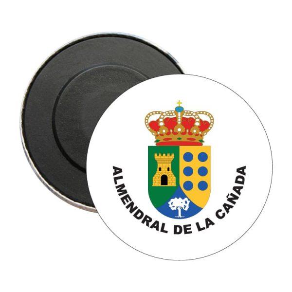 iman redondo escudo heraldico almendral de la canada