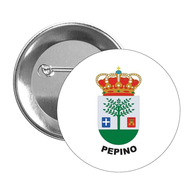 chapa escudo heraldico pepino