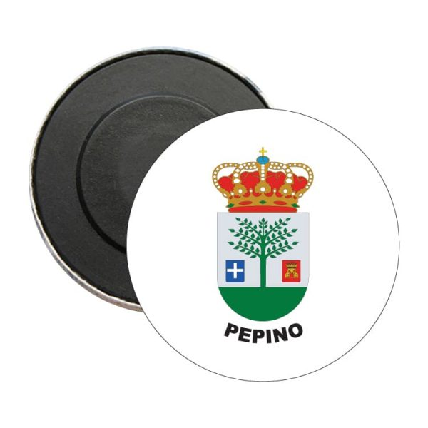 iman redondo escudo heraldico pepino