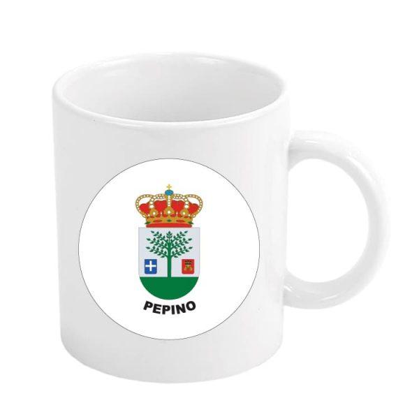 taza escudo heraldico pepino