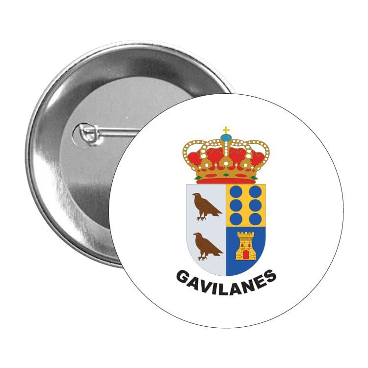 chapa escudo heraldico gavilanes