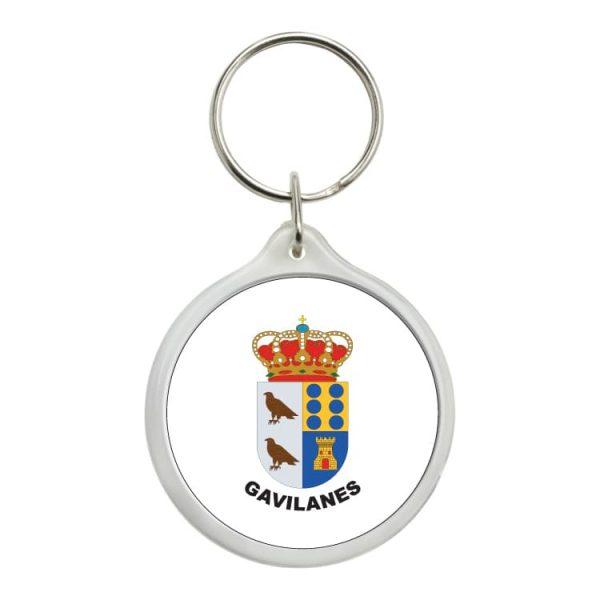 llavero redondo escudo heraldico gavilanes