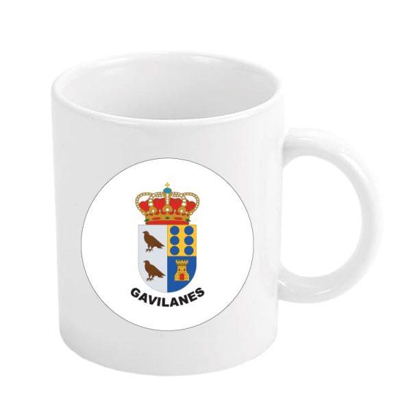 taza escudo heraldico gavilanes