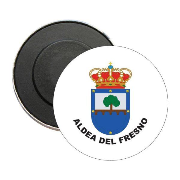 iman redondo escudo heraldico aldea del fresmo
