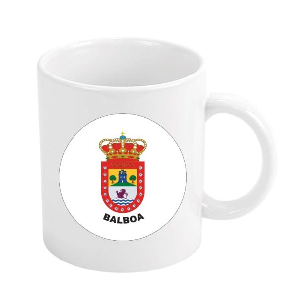 taza escudo heraldico balboa