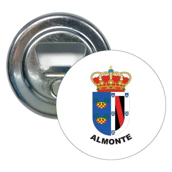 abridor redondo escudo heraldico almonte
