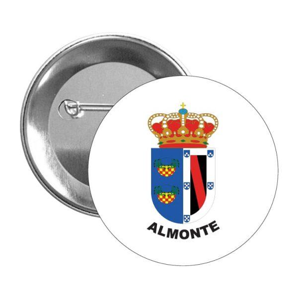 chapa escudo heraldico almonte