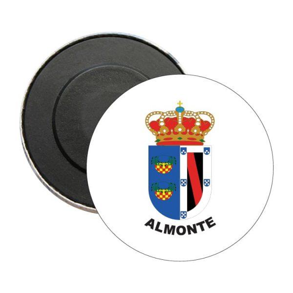 iman redondo escudo heraldico almonte