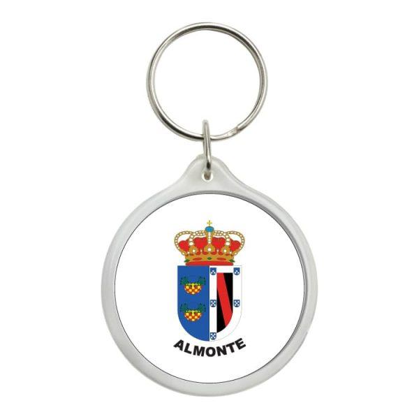 llavero redondo escudo heraldico almonte