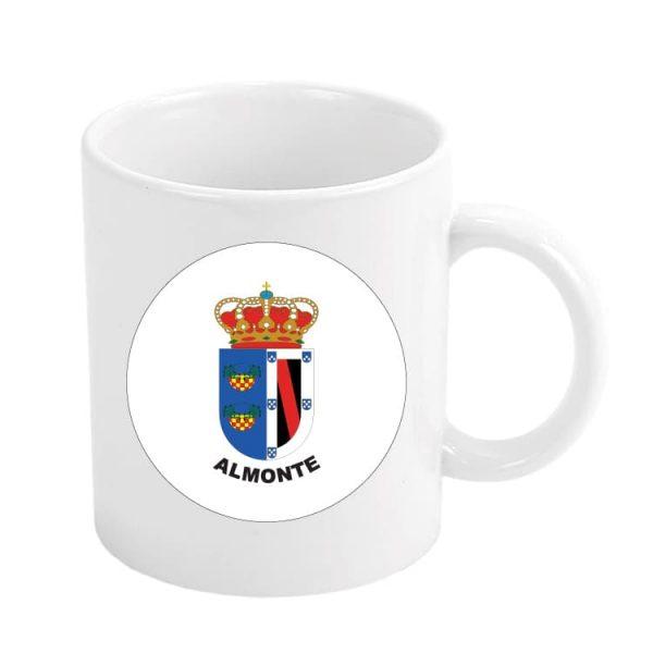 taza escudo heraldico almonte