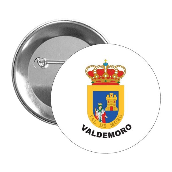 chapa escudo heraldico valdemoro