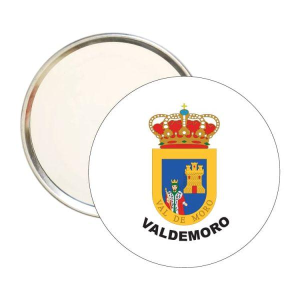 espejo redondo escudo heraldico valdemoro