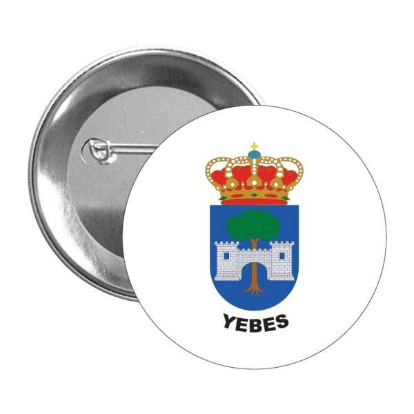 chapa escudo heraldico yebes