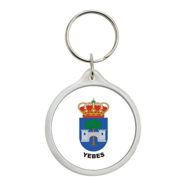 llavero redondo escudo heraldico yebes