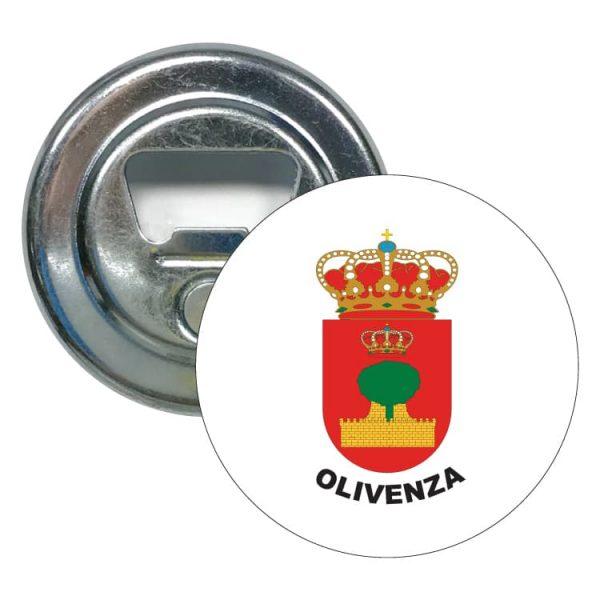 abridor redondo escudo heraldico olivenza