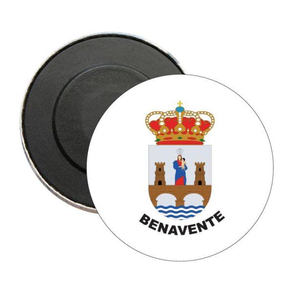 iman redondo escudo heraldico benavente