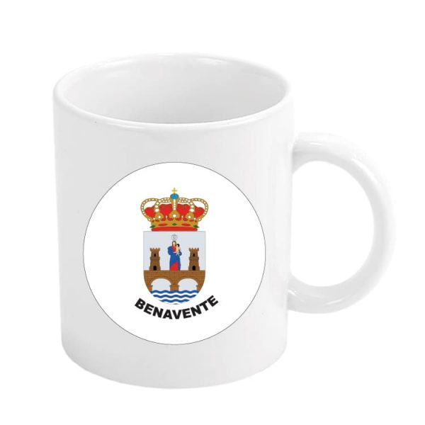 taza escudo heraldico benavente