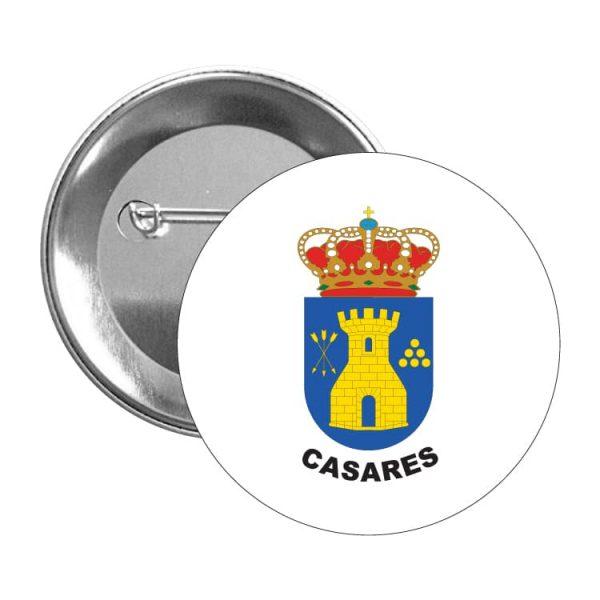 chapa escudo heraldico casares