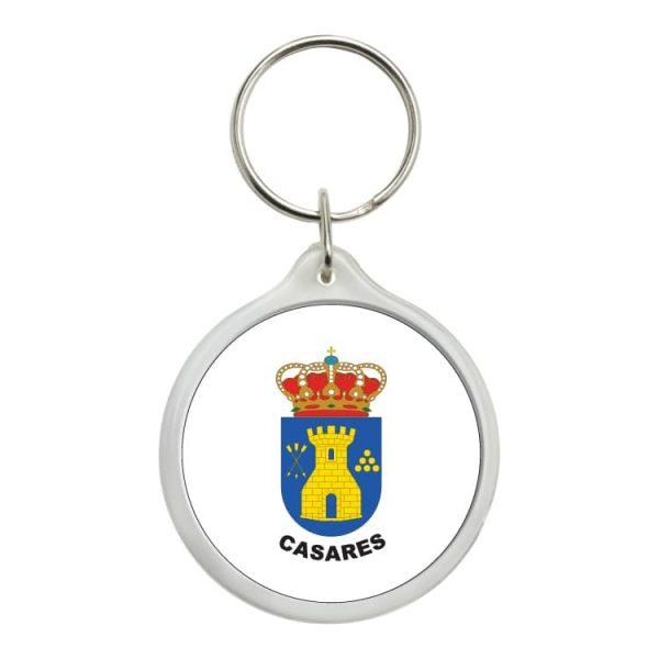 llavero redondo escudo heraldico casares