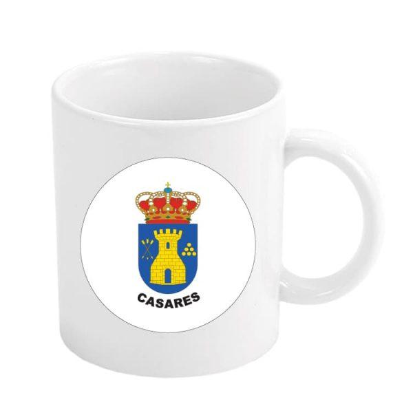 taza escudo heraldico casares