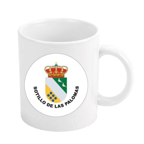 taza escudo heraldico sotillo de las palomas