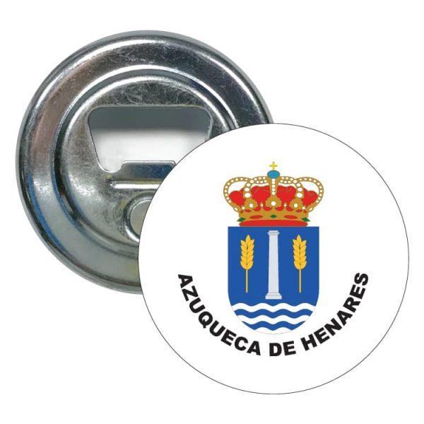 abridor redondo escudo heraldico azuqueca de henares