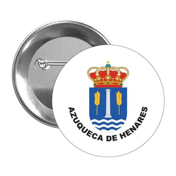 chapa escudo heraldico azuqueca de henares