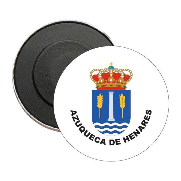 iman redondo escudo heraldico azuqueca de henares