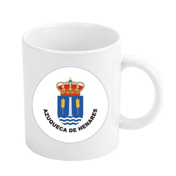 taza escudo heraldico azuqueca de henares