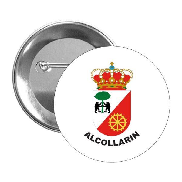942 chapa escudo heraldico alcollarin