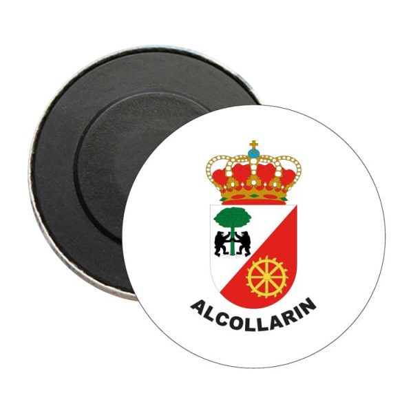 iman redondo escudo heraldico alcollarin