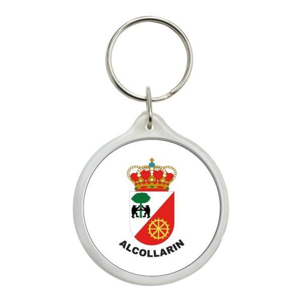 llavero redondo escudo heraldico alcollarin